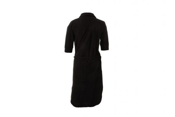 Blouse flassy lang zwart jurk